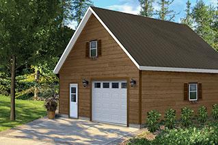 B timents pr fab b timents pr fabriqu s en acier et en bois for Garage prefabrique en bois