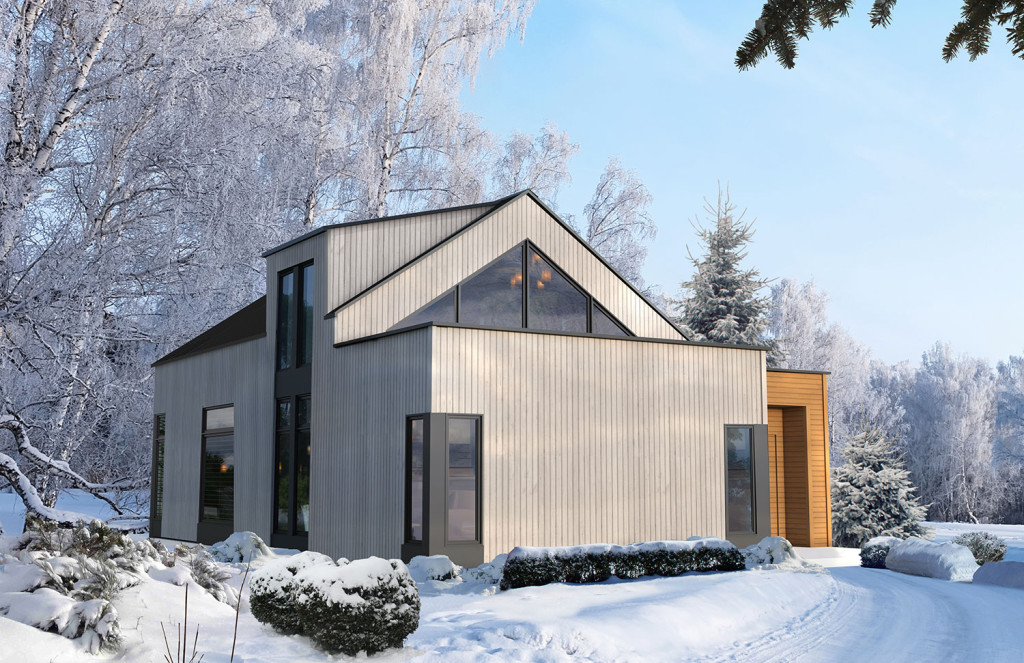 refuges et chalets scandinaves b 226 timents pr 233 fab