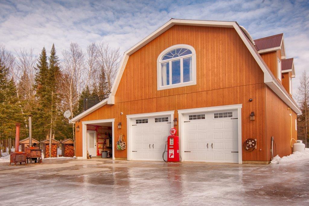 Garages pr fabriqu s en kit b timent pr fab for 16x24 garage kit