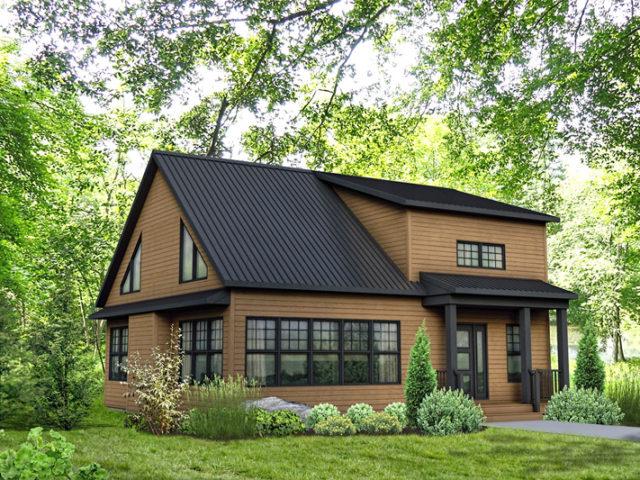 maison 22 maison pr fabriqu e dussault b timent pr fab. Black Bedroom Furniture Sets. Home Design Ideas