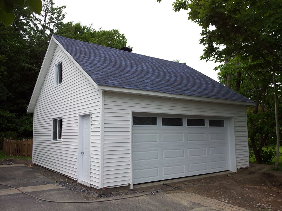 garage  page 5  bâtiment préfab