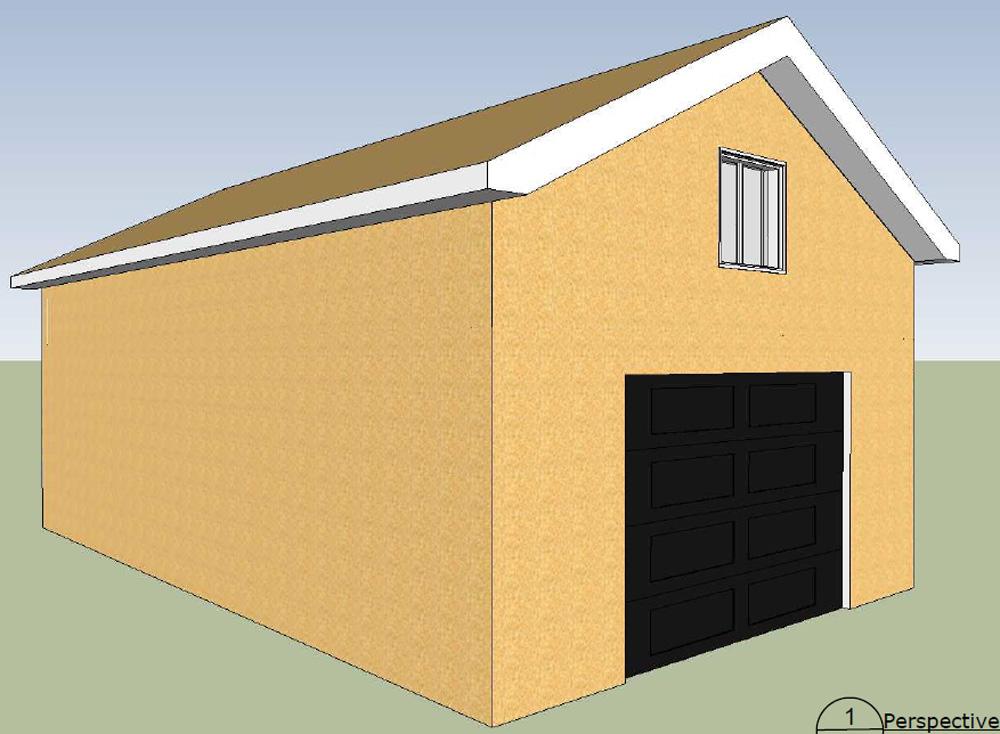 garage 49 garage pr fabriqu hudon b timent pr fab. Black Bedroom Furniture Sets. Home Design Ideas