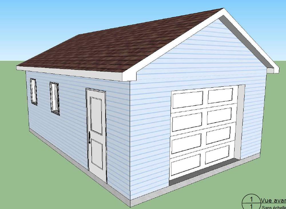 Garage 69 garage pr fabriqu hudon 2 b timent pr fab for Modular garage california