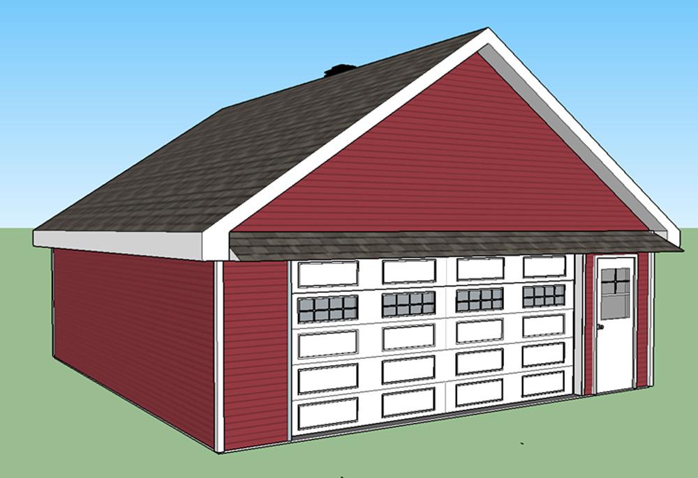 Garage 67 garage pr fabriqu langlois b timent pr fab for Modular garage california