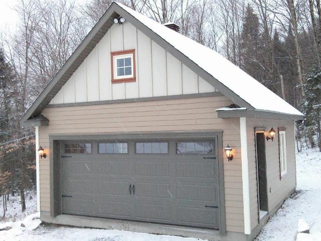 Garage 26 garage pr fabriqu lareau b timent pr fab for 20 x 26 garage