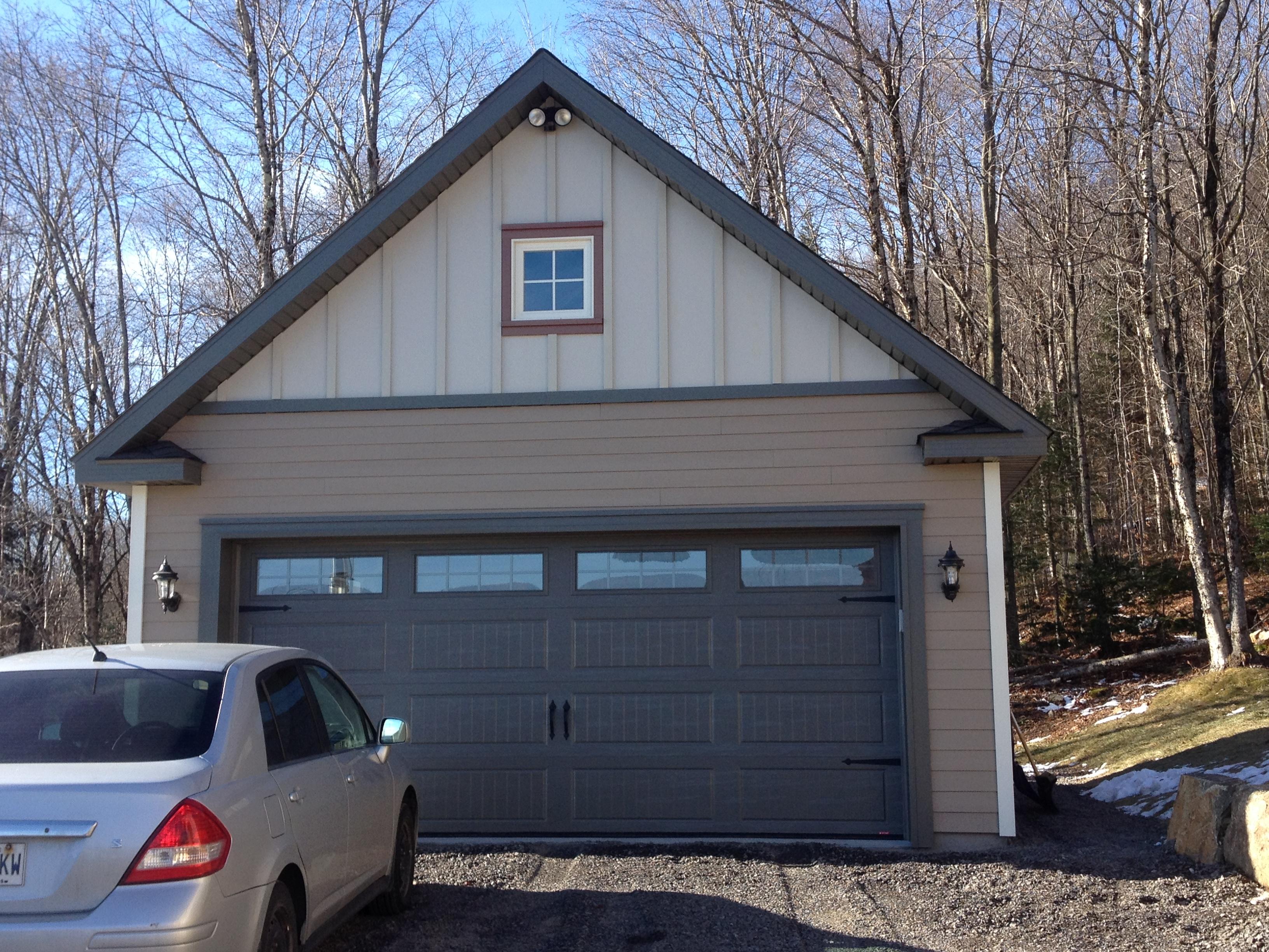 garage 26  garage préfabriqué lareau  bâtiment préfab