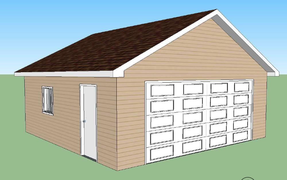 Garages préfabriqués en kit – Bâtiment Préfab