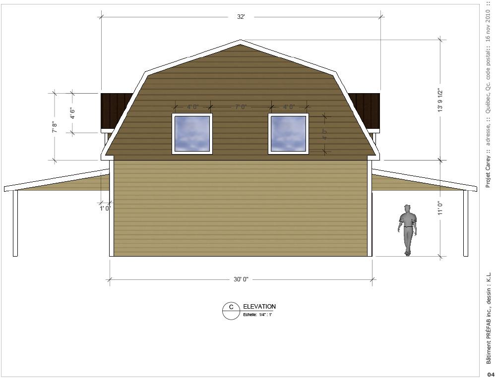 Garage 1 garage pr fabriqu carey 1 b timent pr fab for Prefab garage california