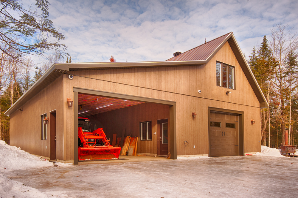Garages Préfabriqués En Kit Bâtiment Préfab